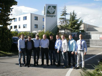 Agrisol visited Valagro